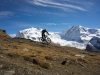 Mountain biking Gornergrat